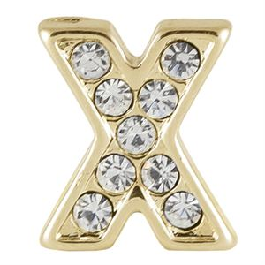 Picture of Gold 'X' Charm
