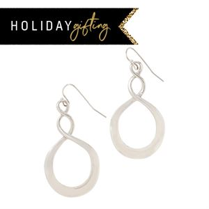 Picture of Infinity Hoop Silver